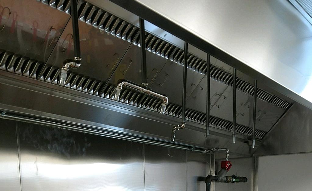 Ventilation Church Kitchen